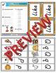 Kindergarten Phonics and Spelling D'Nealian Week 2 (p, q, r, s, t)