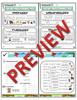 Kindergarten Phonics and Spelling D'Nealian Week 29 (Y, Q) {TEKS-aligned}