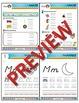 Kindergarten Phonics and Spelling D'Nealian Week 4 (M) {TEKS-aligned}
