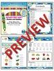 Kindergarten Phonics and Spelling D'Nealian Week 8 (C) {TEKS-aligned}