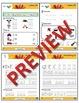 Kindergarten Phonics and Spelling Zaner-Bloser Week 13 (F) {TEKS-aligned}
