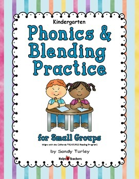 Kindergarten Phonics/Blending Practice for Small Groups