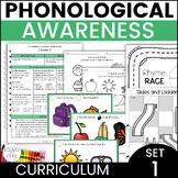 Kindergarten Phonics Mini Lessons Set 1