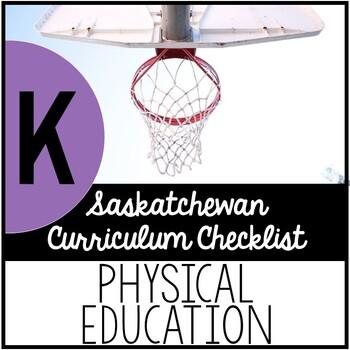 Kindergarten Physical Education - Saskatchewan Curriculum