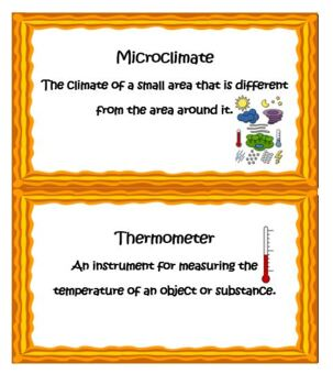 Kindergarten Physical Science-Microclimates and Energy From the Sun