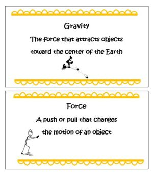 Kindergarten Physical Science-Ramps, Gravity, and Force