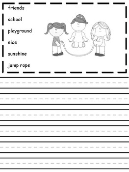 Kindergarten Picture Prompts