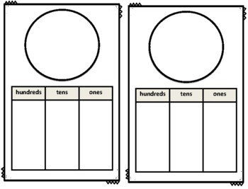 Kindergarten Place Value Work Mats & Manipulatives for Tens and Ones