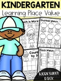 Kindergarten Place Value Worksheets
