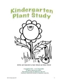 Kindergarten Plant Study-Plant Parts