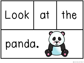 Kindergarten Pocket Chart Center Freebie