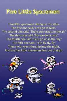 Kindergarten Poem Posters