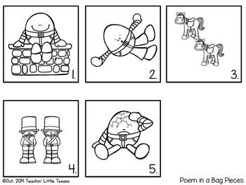 Kindergarten Poetry: Humpty Dumpty Freebie
