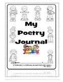 Kindergarten Poetry Journal