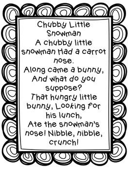 Kindergarten Poetry Notebooks