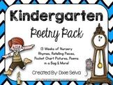 Kindergarten Poetry Pack: Nursery Rhymes