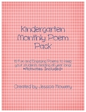 Kindergarten Poetry Pack