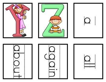 Kindergarten Portable Word Wall