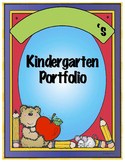 Pre-K, Kindergarten, and First Grade Portfolio {Part 1}