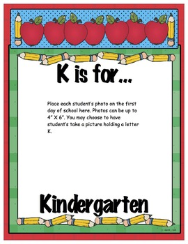Pre-K, Kindergarten, and First Grade Portfolio {Part 1}