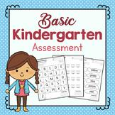 Kindergarten Portfolio Assessments