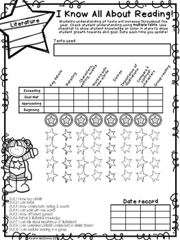 Kindergarten Portfolio & Grading - Standards Based & Formative Assessments