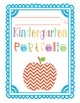 Kindergarten Portfolio Pages for the Whole School Year!