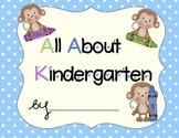 Kindergarten Portfolio- Polka Dots and Monkeys