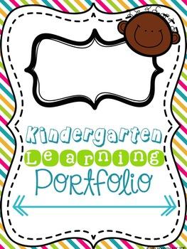 Kindergarten Portfolio Starter