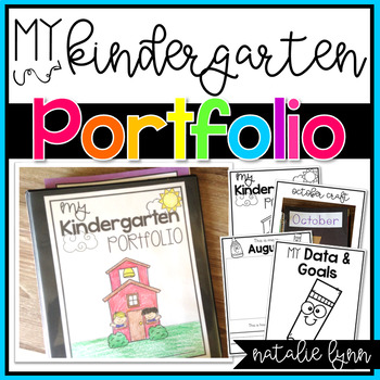 Kindergarten Portfolio and Data Binder