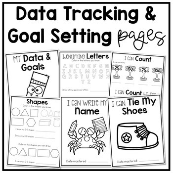 Kindergarten Portfolio and Data Binder
