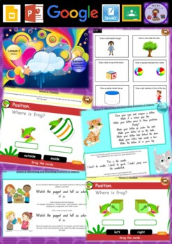 Kindergarten Position Smart Notebook and Unit of Work Bundle 1