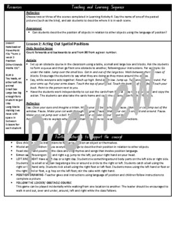Kindergarten Position Smart Notebook and Unit of Work Bundle 2