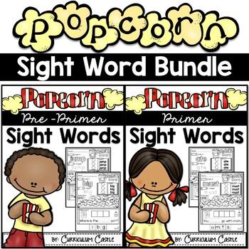 Kindergarten Pre-Primer & Primer Sight Word Bundle