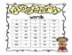 Kindergarten Pre-Primer Sight Word Flashcards and Letter to Parents