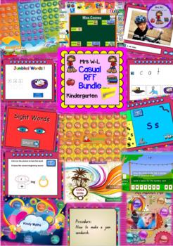 Kindergarten/ Prep Casual RFF Smart Notebook Bundle