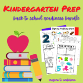 Kindergarten Prep & Elementary Back-To-School Bundle
