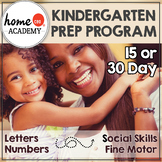 Kindergarten Prep Program - For the Summer Before Kindergarten