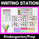 Kindergarten/Prep Writing Station- 5 Font Options