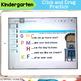 Kindergarten Prepositions and Capitalization Digital Activities