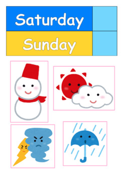 Kindergarten, Preschool Morning Circle Time date, today, weather Chart Printable