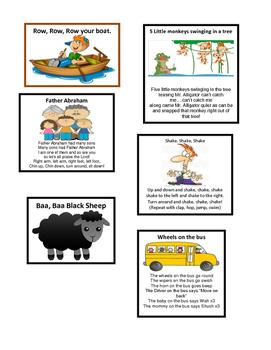 Kindergarten - Preschool Songs part 1