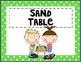 Kindergarten / Primary Classroom Center Signs