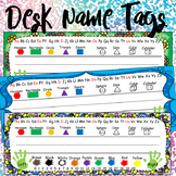 Kindergarten Printable Desk Name Tags