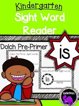 Kindergarten Printable Sight Word Reader: Is
