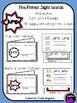 Kindergarten Printable Sight Word Reader: Jump