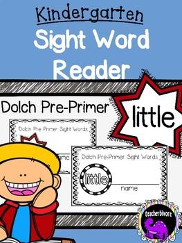 Kindergarten Printable Sight Word Reader: Little
