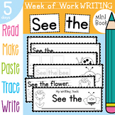 Bug / Mini Beasts Week of Writing Activities Book - See the
