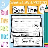 Bug / Mini Beasts Week of Writing Activities Book - See the
