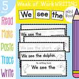 Printable Writing Activities Book - Ocean / Under the Sea Theme